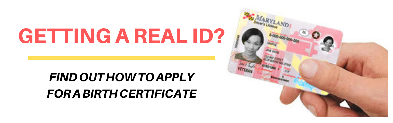 Getting a REAL ID? Find out how to apply for a birth certificate