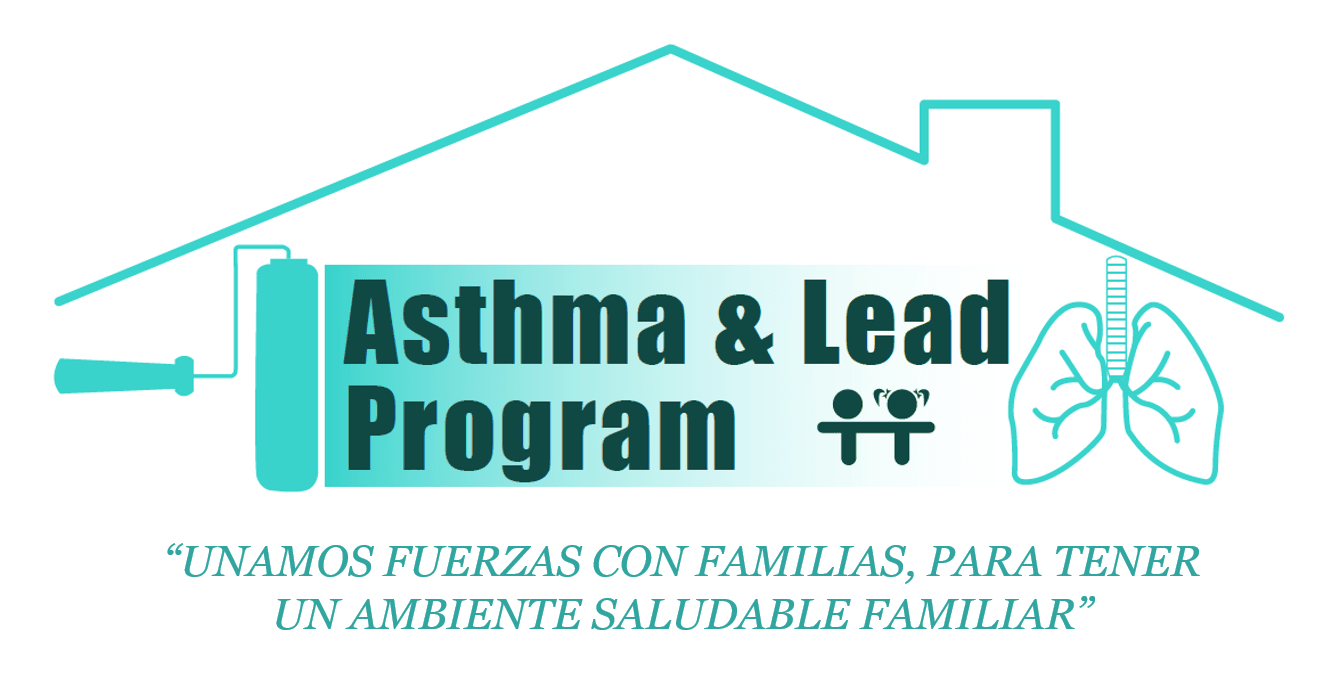 Asthma and Lead Program Logo in Spanish