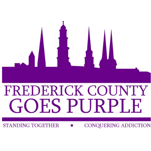 Frederick County Goes Purple Spires