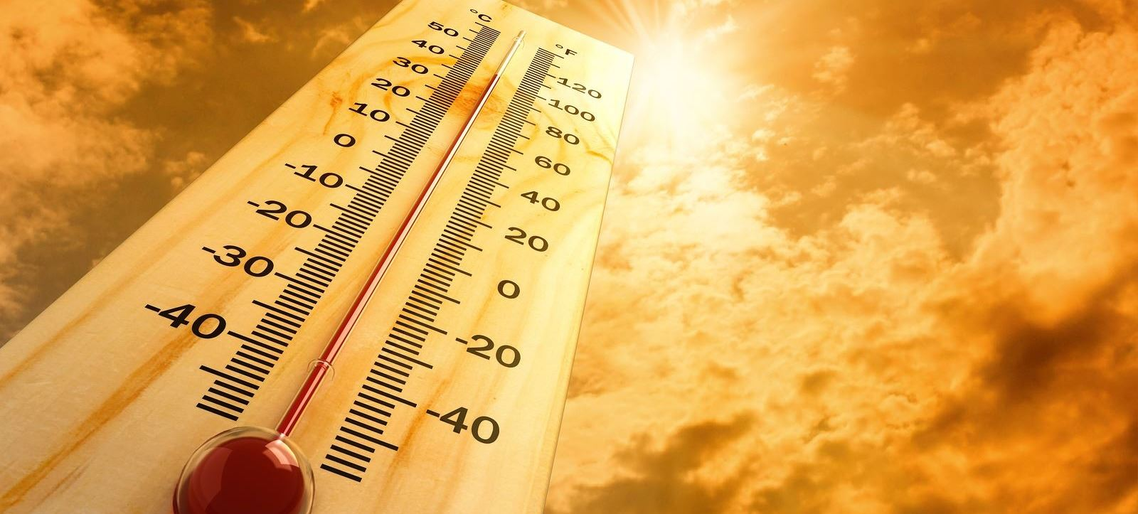 Graphic of Hot Thermometer