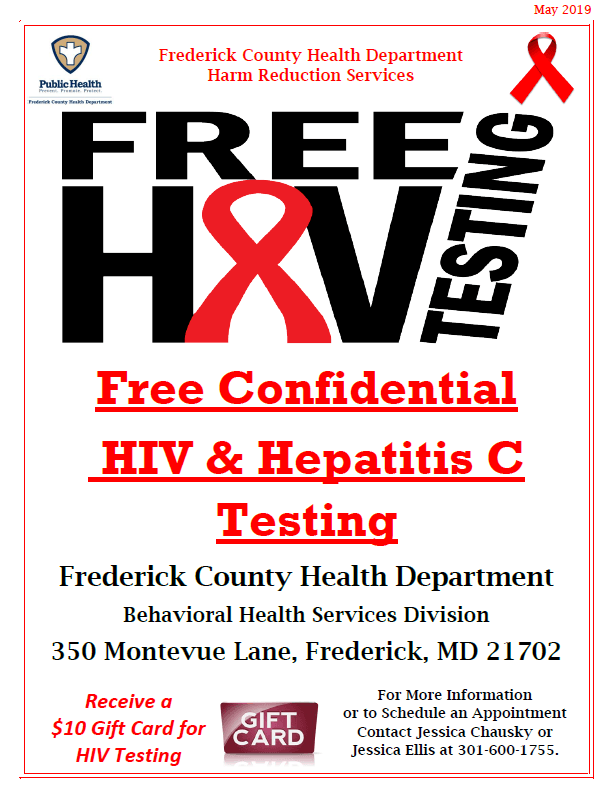 2019 HIV HCV Testing flier Opens in new window